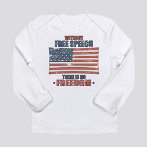 Free Speech Long Sleeve Infant T-Shirt