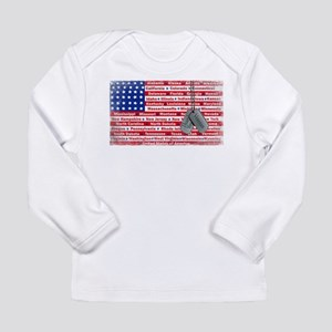 """Thank You Veteran"" Long Sleeve Infant T-Shirt"