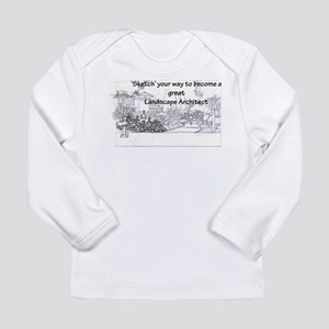 Landscape Architect Long Sleeve Infant T-Shirt