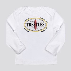 Trestles Surf Spots Long Sleeve T-Shirt