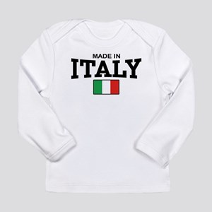 Made In Italy Long Sleeve T-Shirt