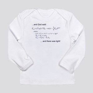 God said, let there be light (QED) Long Sleeve Inf