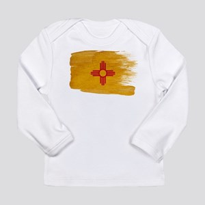 New Mexico Flag Long Sleeve Infant T-Shirt