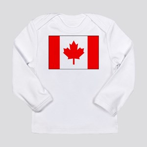 Flag of Canada 1 Long Sleeve Infant T-Shirt