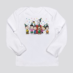 Peanuts Gang Birthday Long Sleeve Infant T-Shirt
