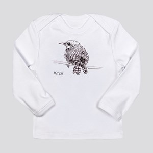 Little Brown Wren Long Sleeve Infant T-Shirt