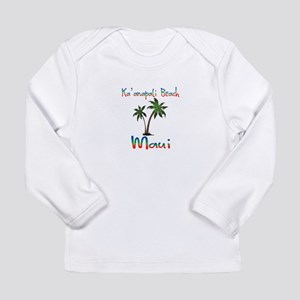 Ka'anapali Beach Maui Long Sleeve T-Shirt