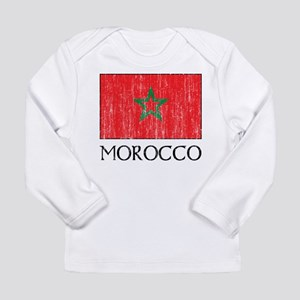 Morocco Flag Long Sleeve Infant T-Shirt