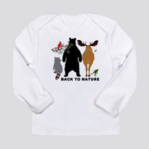 Back To Nature Long Sleeve Infant T-Shirt