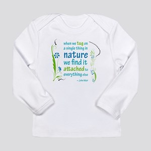 Nature Atttachment Long Sleeve Infant T-Shirt
