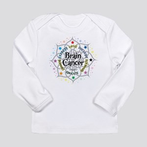 Brain Cancer Lotus Long Sleeve Infant T-Shirt