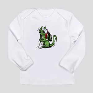 Christmas Dragon Long Sleeve T-Shirt