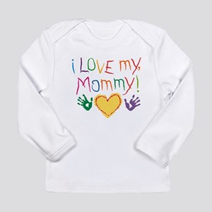 i luv mom Long Sleeve T-Shirt