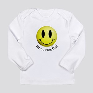 Nice Day Smiley Long Sleeve Infant T-Shirt