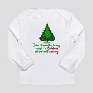 Christmas Vacation Misery Long Sleeve Infant T-Shi
