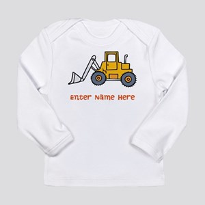Personalized Loader Long Sleeve Infant T-Shirt