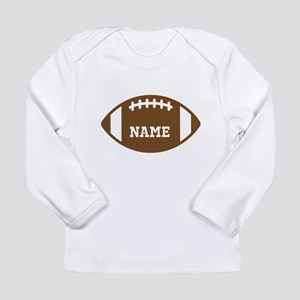 Custom Football Long Sleeve Infant T-Shirt