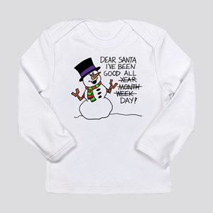 Santa Good All Day Long Sleeve T-Shirt