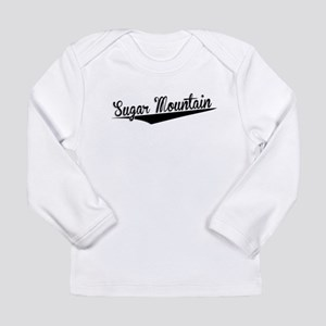 Sugar Mountain, Retro, Long Sleeve T-Shirt
