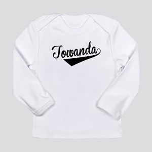 Towanda, Retro, Long Sleeve T-Shirt