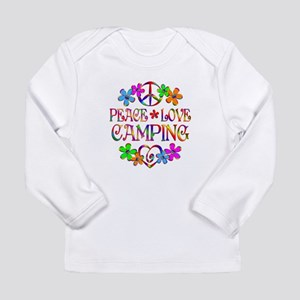 Peace Love Camping Long Sleeve Infant T-Shirt