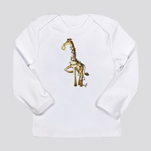 Shiny Giraffe Long Sleeve T-Shirt