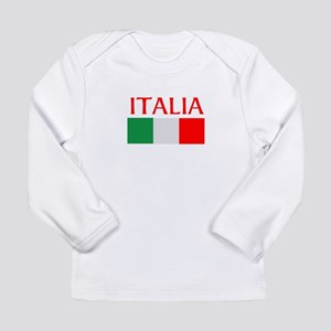 ITALIA FLAG Long Sleeve Infant T-Shirt