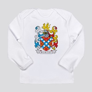 Worthy Family Crest Long Sleeve T-Shirt