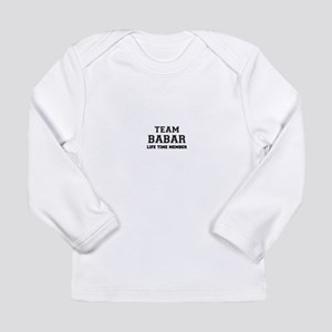 Team BABAR, life time member Long Sleeve T-Shirt