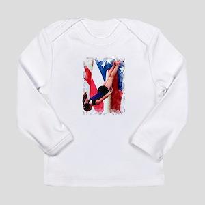 50715076609b Trampoline Gymnast Long Sleeve Infant T-Shirt