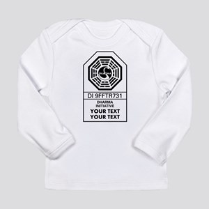 0efc4b996f54 Custom Dharma Label Long Sleeve T-Shirt
