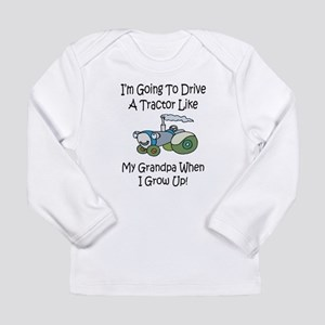 tractorgrandpab Long Sleeve T-Shirt