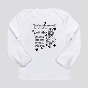 Alice Not Myself Long Sleeve Infant T-Shirt