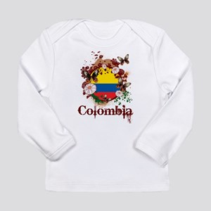 Butterfly Colombia Long Sleeve Infant T-Shirt