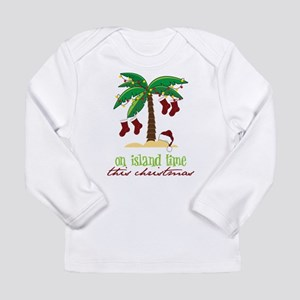 On Island Time Long Sleeve Infant T-Shirt