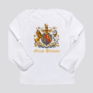 Royal Coat Of Arms Long Sleeve Infant T-Shirt