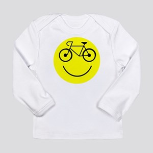 Smiley Cycle Long Sleeve Infant T-Shirt