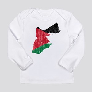 0eed60ca3cf6 Jordan Flag And Map Long Sleeve Infant T-Shirt