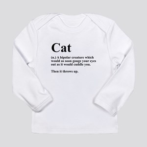 Cat Definition Long Sleeve T-Shirt