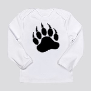 GAY BEAR PRIDE Gay Bear Paw Long Sleeve Infant T-S