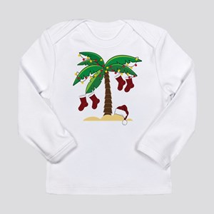 Tropical Christmas Long Sleeve Infant T-Shirt
