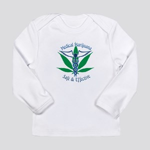Medical Marijuana Safe & Effective Long Sleeve T-S