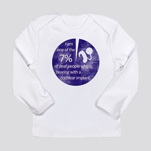 7 Percent Long Sleeve Infant T-Shirt