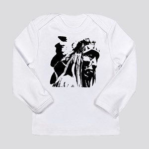 Native American Chief Art Long Sleeve Infant T-Shi