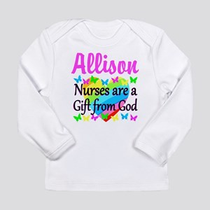 BLESSED NURSE Long Sleeve Infant T-Shirt