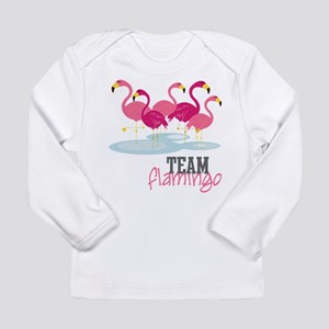 Team Flamingo Long Sleeve Infant T-Shirt
