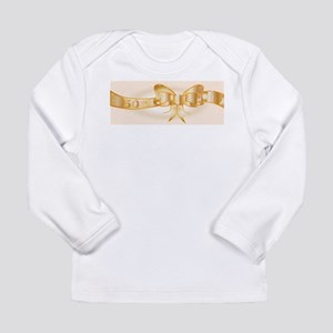 50th Golden Ribbon Long Sleeve T-Shirt