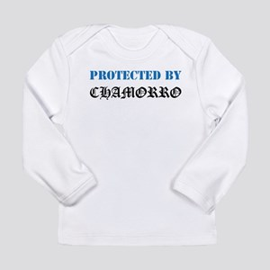 Protected by Chamorro Long Sleeve T-Shirt