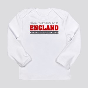 'Girl From England' Long Sleeve Infant T-Shirt