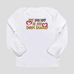 Pappy is My Best Buddy Long Sleeve Infant T-Shirt